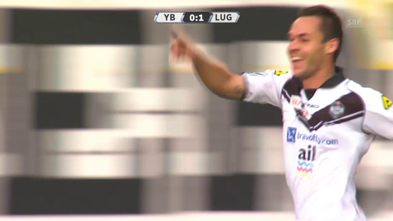 Fussball: Super League, YB - Lugano