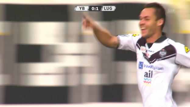 Video «Fussball: Super League, YB - Lugano» abspielen