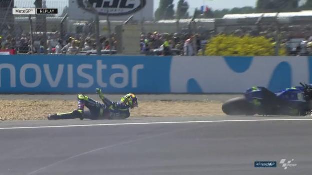 Video «Der Sturz von Rossi» abspielen