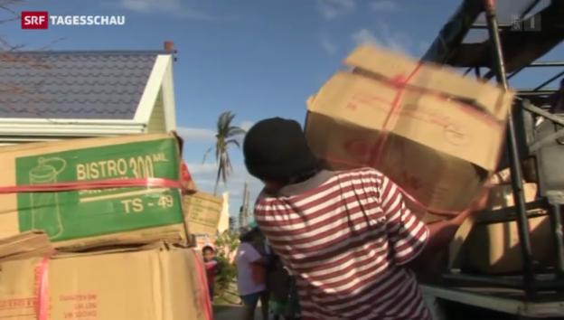 Video «Reportage aus Daanbantayan im Norden der Insel Cebu» abspielen