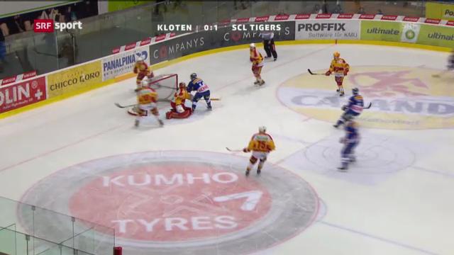 Spielbericht Kloten - Tigers («sportaktuell»)