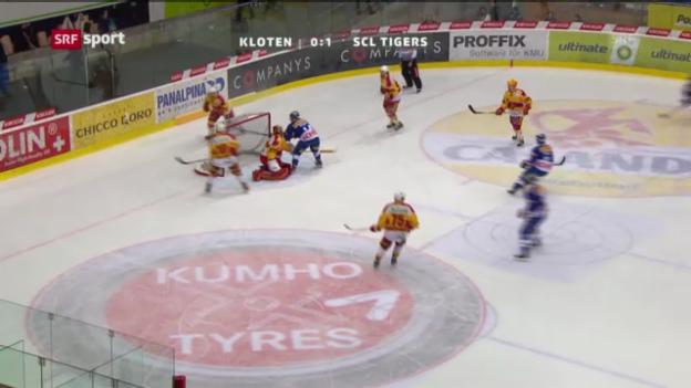 Video «Spielbericht Kloten - Tigers («sportaktuell»)» abspielen