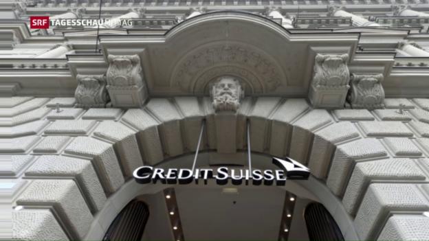 Video «Credit Suisse legt US-Hypothekenstreit bei» abspielen