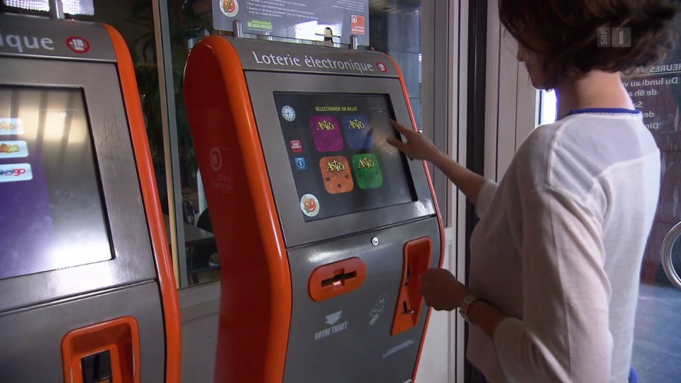 Beispiel «Tactilo»: Was sich an den populären Glücksspiel-Maschinen jeden Monat zwischen dem 23. und dem 7. abspielt.