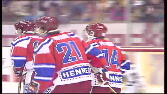 Spengler Cup 1991: HC Lugano - ZSKA Moskau
