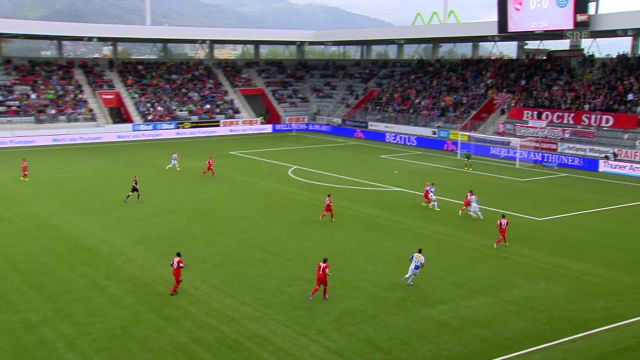 Zusammenfassung Thun - GC («sportpanorama»)