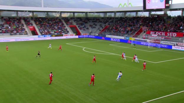 Video «Zusammenfassung Thun - GC («sportpanorama»)» abspielen