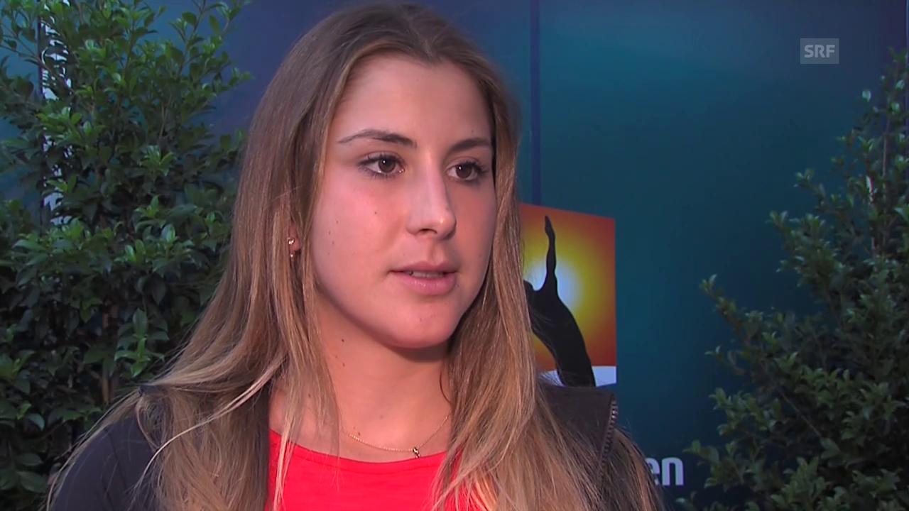 Belinda Bencic über ihre Vorbereitung