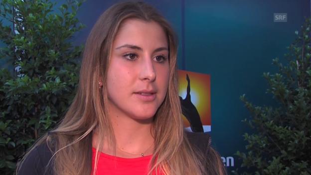 Video «Belinda Bencic über ihre Vorbereitung» abspielen