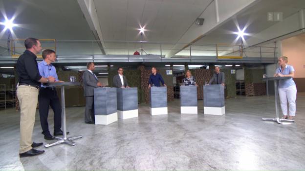 Video «Arena: An der Südgrenze» abspielen