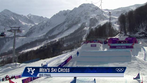 Video «Skicross: Männer, Final (sotschi direkt, 20.2.2014)» abspielen