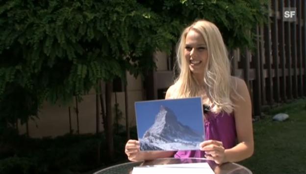 Video ««Miss Perfect» 2009: Die «Miss Schweiz»-Kandidatinnen kennen das Matterhorn nicht» abspielen