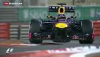 Video «Siebter Sieg in Serie für Vettel» abspielen