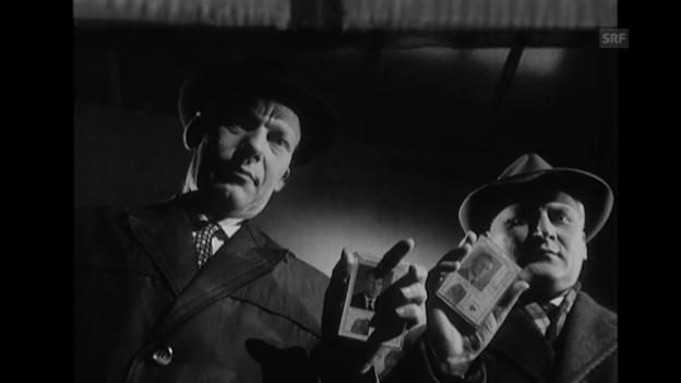 Video ««Unter Einschluss der Öffentlichkeit» (Fernsehspiel 16.3.1960)» abspielen