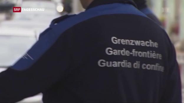 Video «Stehen an der Schweizer Grenze bald private Sicherheitsdienste?» abspielen