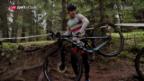 Video «Die Iranerin Azar ist eine Mountainbike-Pionierin» abspielen
