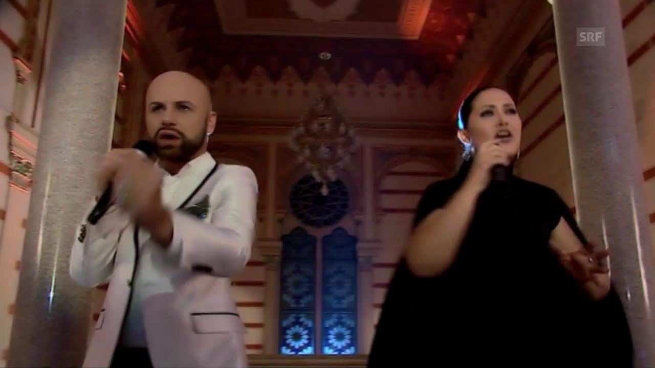 Bosnien-Herzegowina: Dalal and Deen feat. Ana Rucner «Ljubav je»