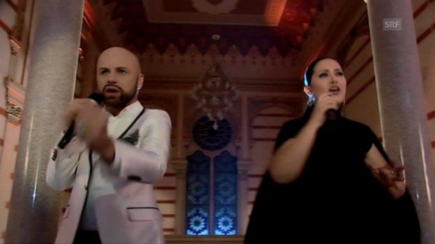 Video «Bosnien-Herzegowina: Dalal and Deen feat. Ana Rucner «Ljubav je»» abspielen