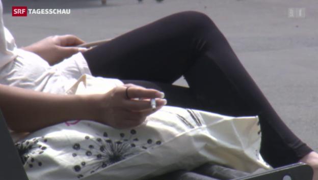 Video «Jeder Zweite möchte nicht mehr rauchen» abspielen
