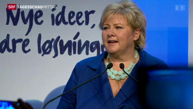 Video «Norwegen vor Regierungswechsel» abspielen
