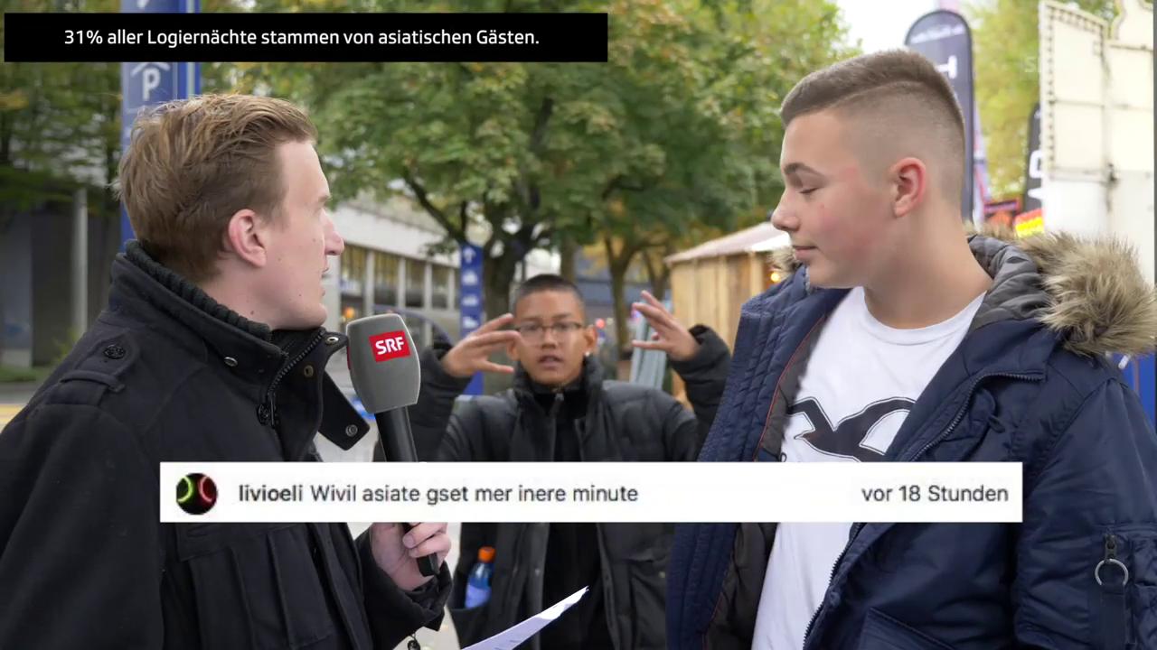 «3 Fragen vom 3» - Stefan Büsser sucht in Luzern nach Antworten