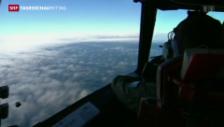 Video «Mögliche Flugzeugtrümmer entdeckt» abspielen