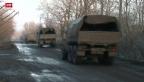 Video «Heftige Gefechte trotz Feuerpause in der Ukraine» abspielen