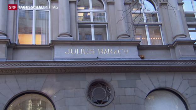 Video «Gewinneinbruch bei der Bank Julius Bär» abspielen