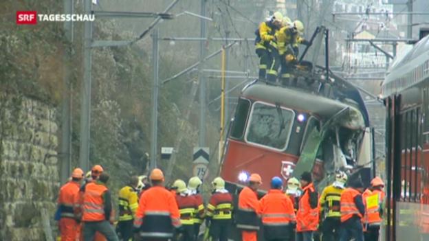 Video «Zahl der Bahnunfälle geht seit Jahren zurück» abspielen