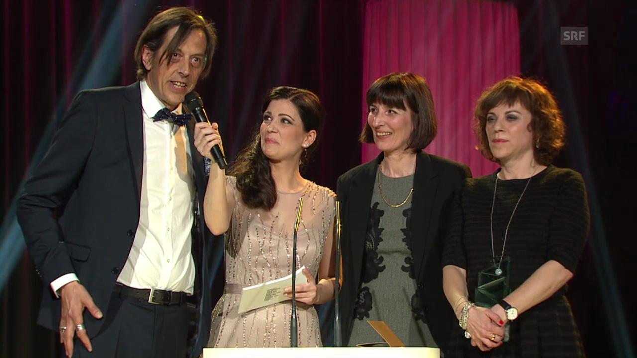 Bestes Drehbuch: Jasmine Hoch, Sabine Boss und Pedro Lenz