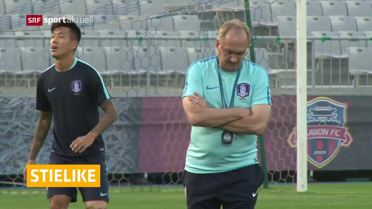 Stielike nicht mehr Südkorea-Coach