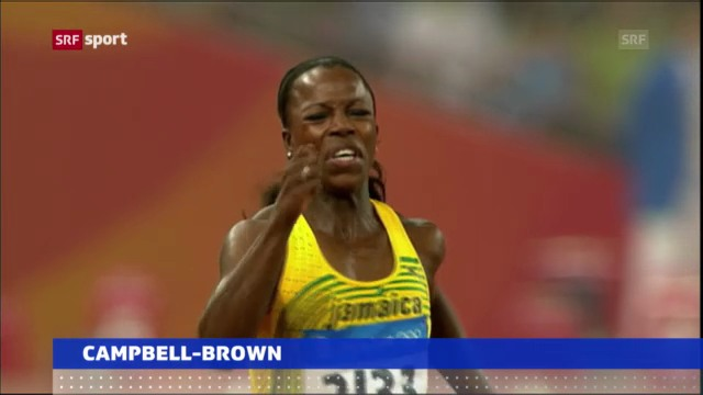 Doping-Vorwürfe gegen Campbell-Brown («sportaktuell»)