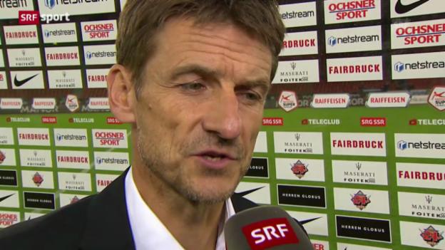Video «Fussball: Stimmen zu FCZ - Luzern («sportaktuell»)» abspielen