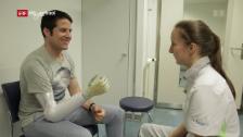 Link öffnet eine Lightbox. Video Berufsbild: Orthopädistin EFZ abspielen