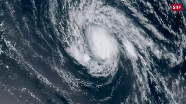 Video «Wirbelsturm über dem Atlantik» abspielen