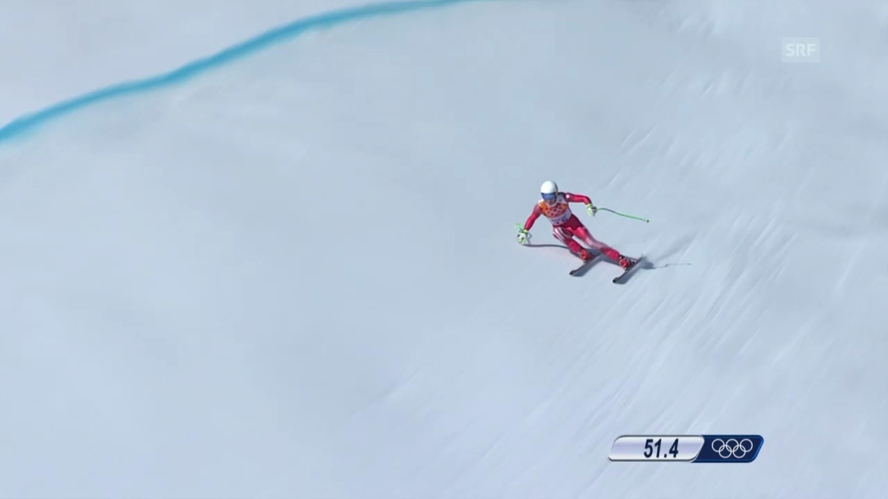 Ski, Kombi-Abfahrt von Carlo Janka