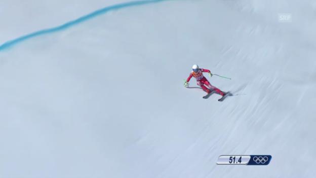 Video «Ski, Kombi-Abfahrt von Carlo Janka» abspielen