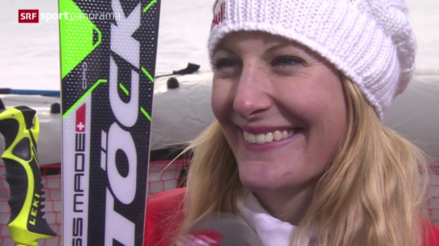 Video «Skicross: Interview Fanny Smith» abspielen