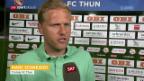 Video «Die Stimmen zum Spiel Thun gegen Basel» abspielen