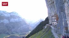 Link öffnet eine Lightbox. Video Bekanntes Bergrestaurant Aescher bleibt in Appenzeller Händen abspielen