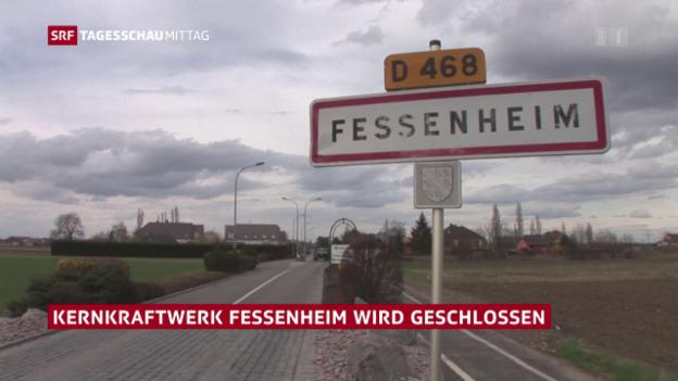Video «Schliessung von Fessenheim besiegelt» abspielen