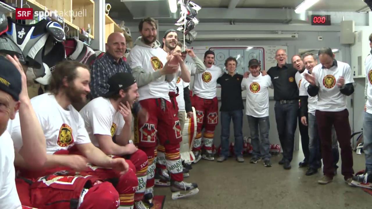Eishockey: Langnau feiert den Aufstieg der SCL-Tigers
