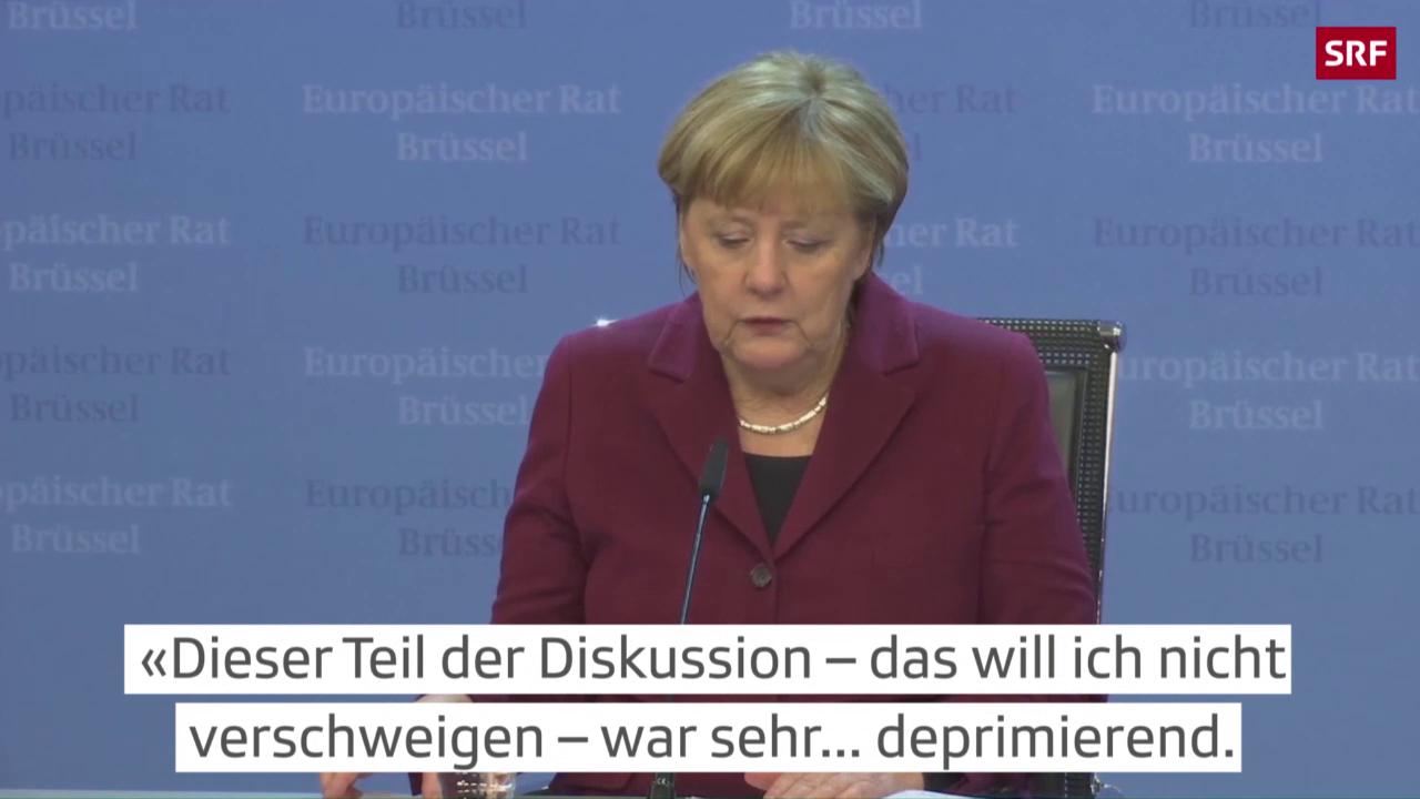 Merkel zur Ohnmacht über Aleppo