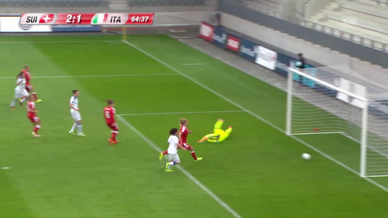 Parisi verkürzt auf 1:2 für Italien