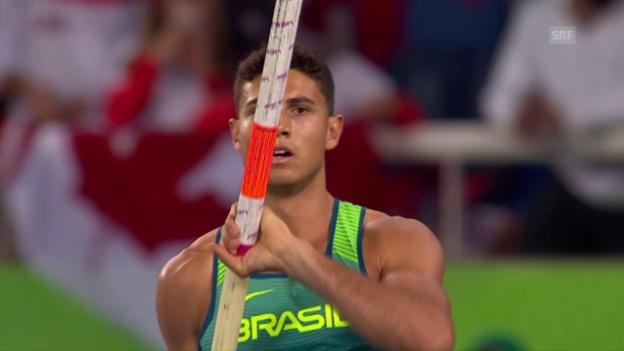 Video «Da Silva überspringt 6,03 Meter» abspielen