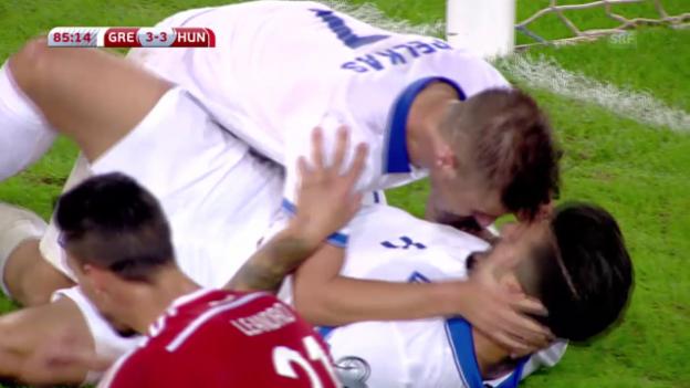 Video «Fussball. Griechenland-Ungarn» abspielen