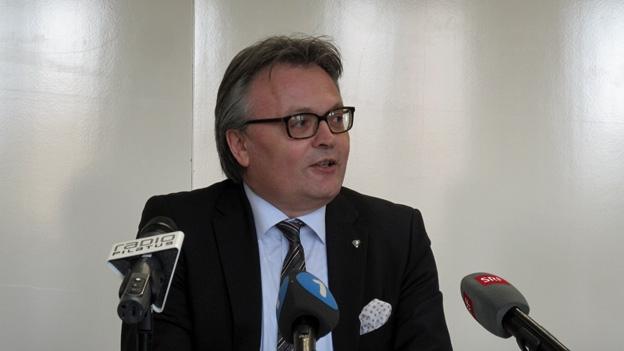 Stadtpräsident Stefan Roth im Gespräch (Beat Vogt, 16.12.2012)