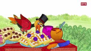 Laschar ir video «Giat Miro Episoda 17: Egn picnic delizius - Sutsilvan»