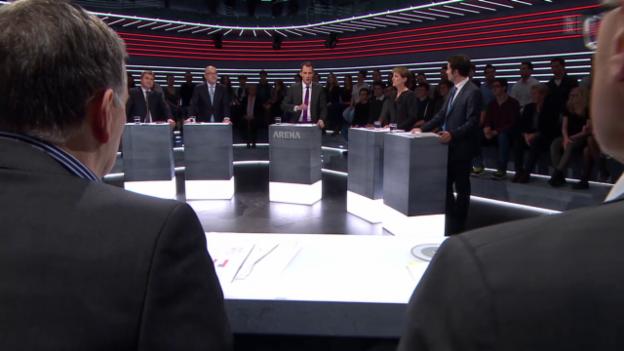 Video «Abstimmungs-Arena: Durchsetzungsinitiative» abspielen