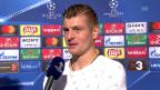 Video «Kroos: «Vidal hätte schon früher Gelb-Rot sehen können»» abspielen